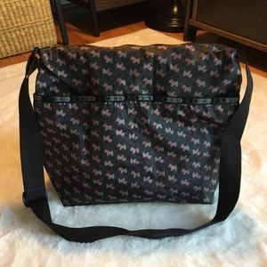 LeSportsac Scottie Dog Messenger Bag
